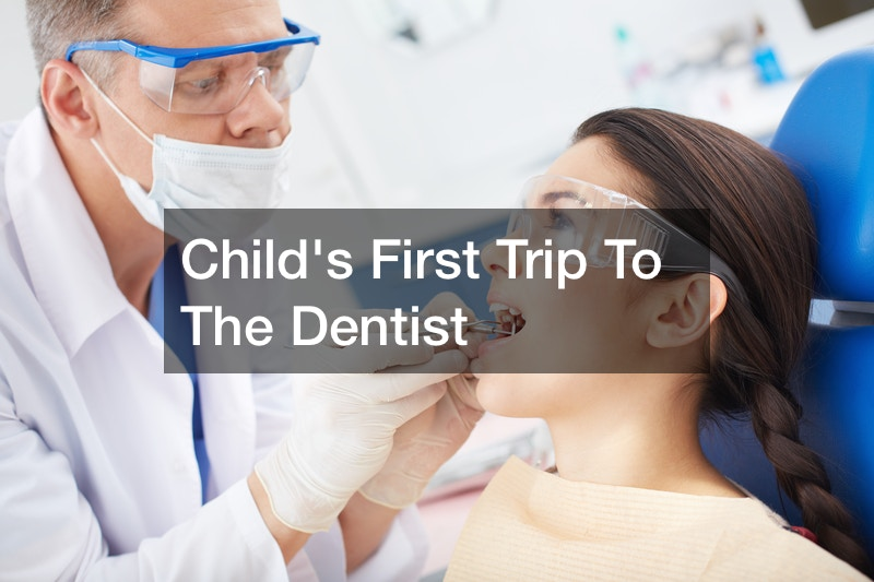 Childs First Trip To The Dentist